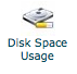 disk space usage